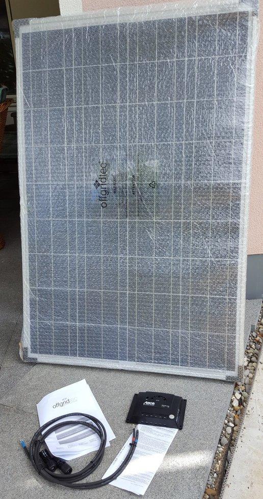 Offgrid Bausatz mit 100W